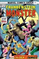 Frankenstein (1973) #18 cover