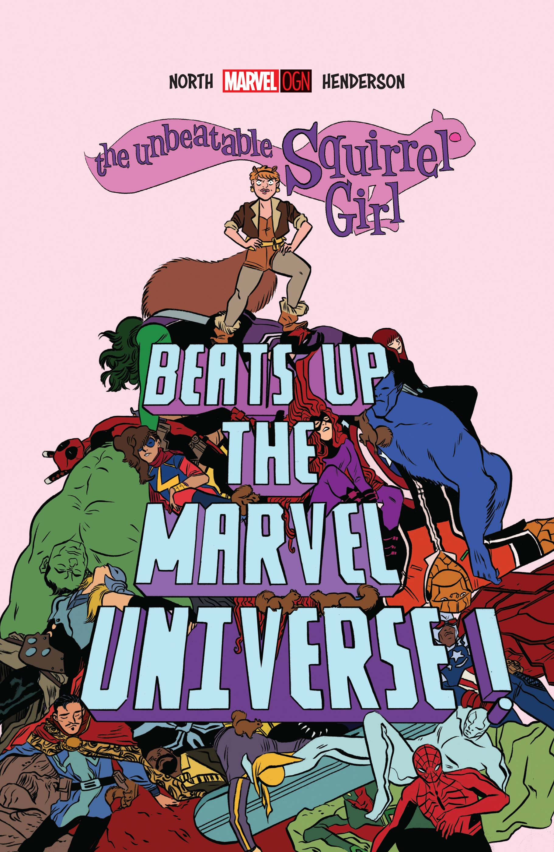 The Unbeatable Squirrel Girl Beats Up the Marvel Universe (2016)