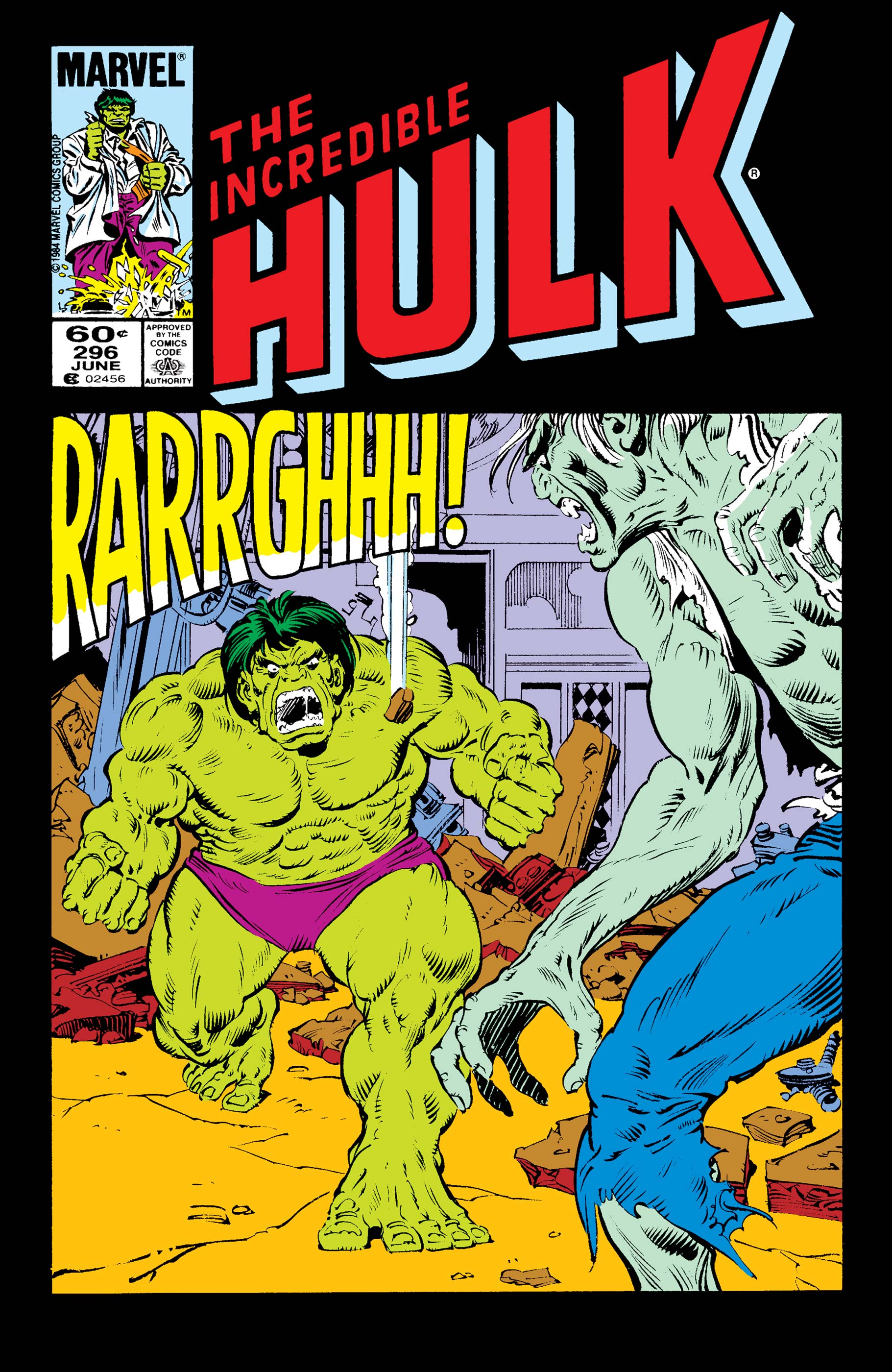 Incredible Hulk (1962) #296