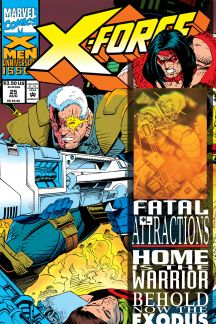X-Force (1991) #25