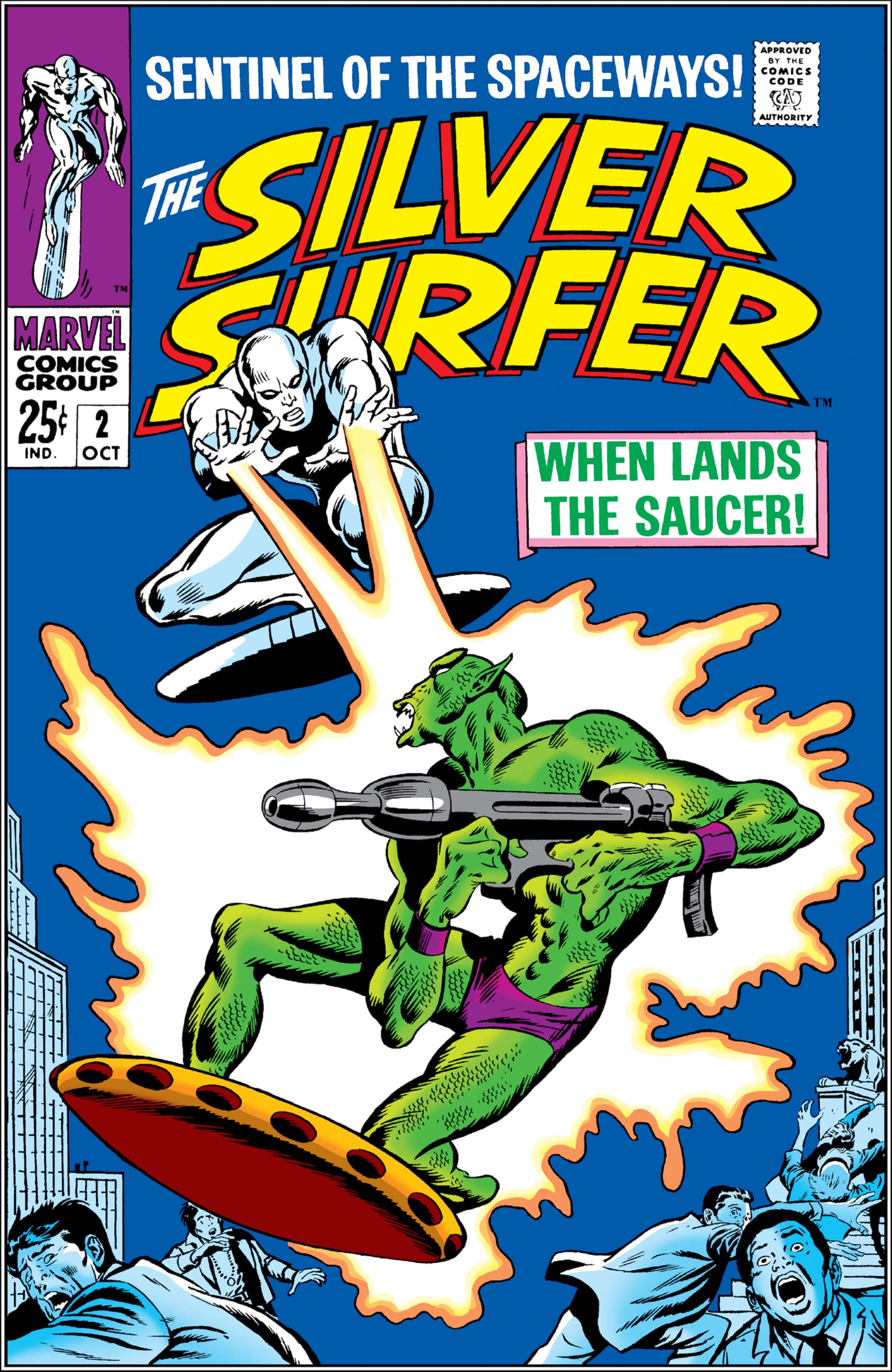 Silver Surfer (1988) #2