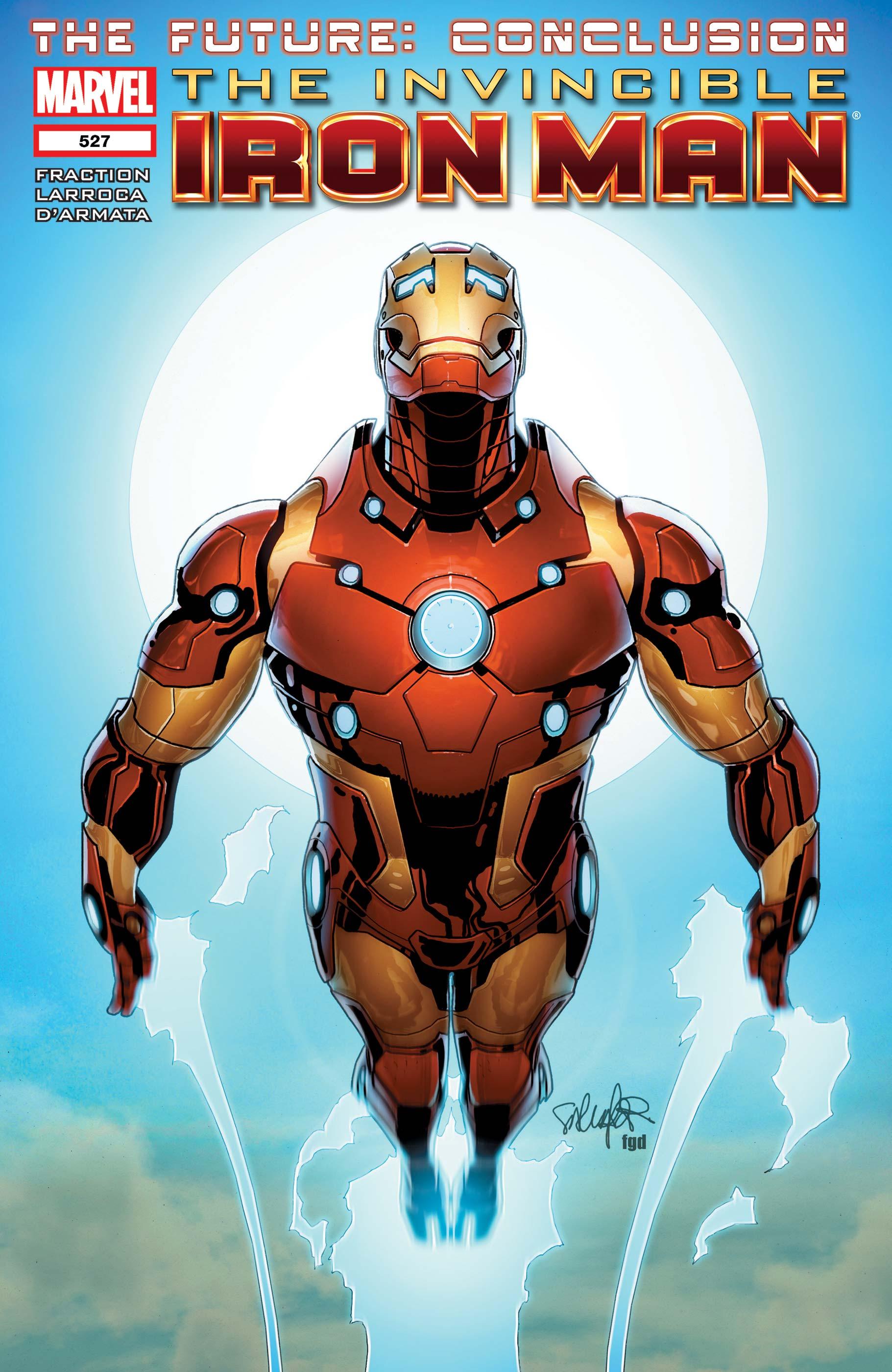 Invincible Iron Man (2008) #527