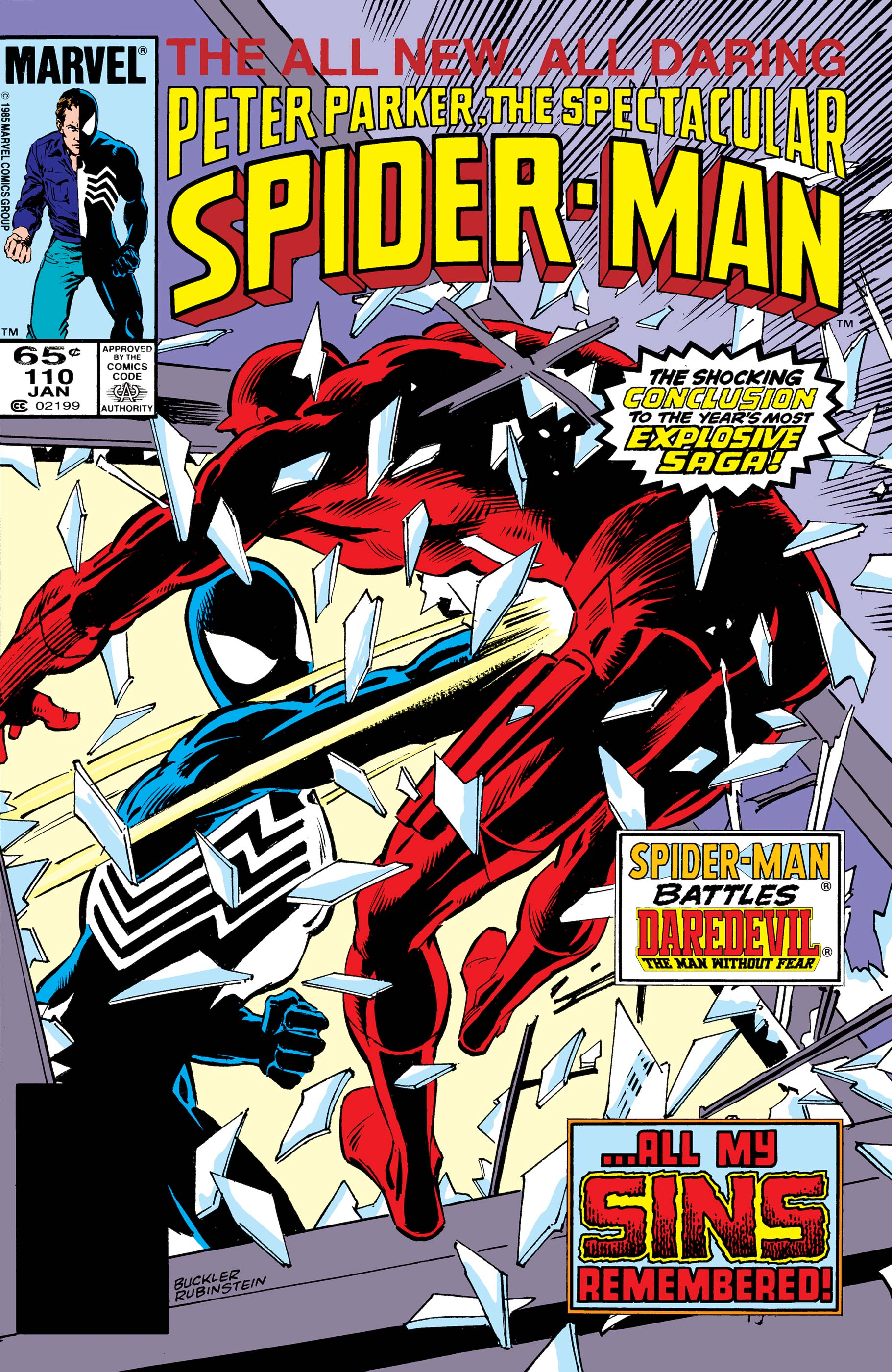 Peter Parker, the Spectacular Spider-Man (1976) #110