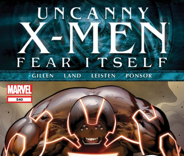Uncanny X-Men (1963) #540