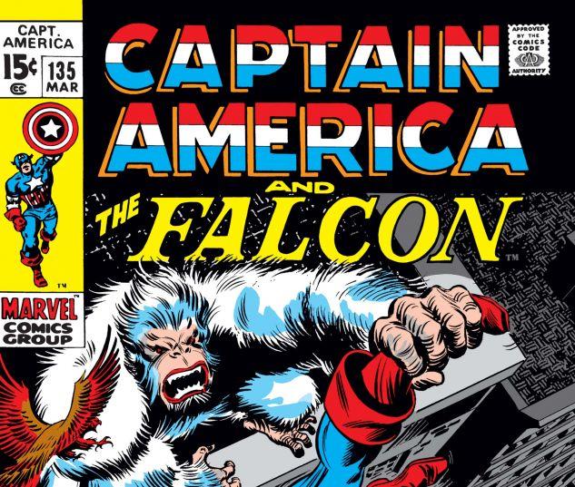 Captain America (1968) #135