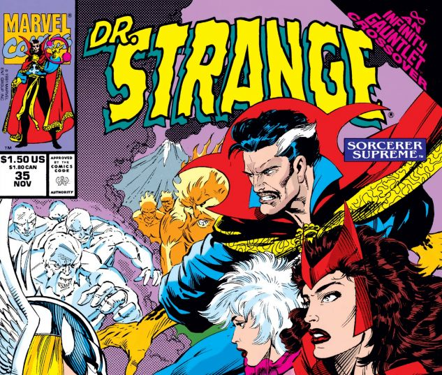 Cover for Doctor Strange, Sorcerer Supreme 35