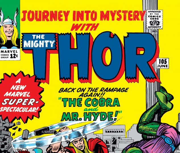 JOURNEY INTO MYSTERY (1952) #105