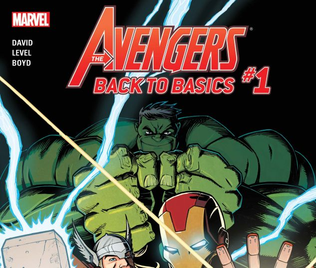 Avengers: Back to Basics CMX Digital Comic (2018) #1
