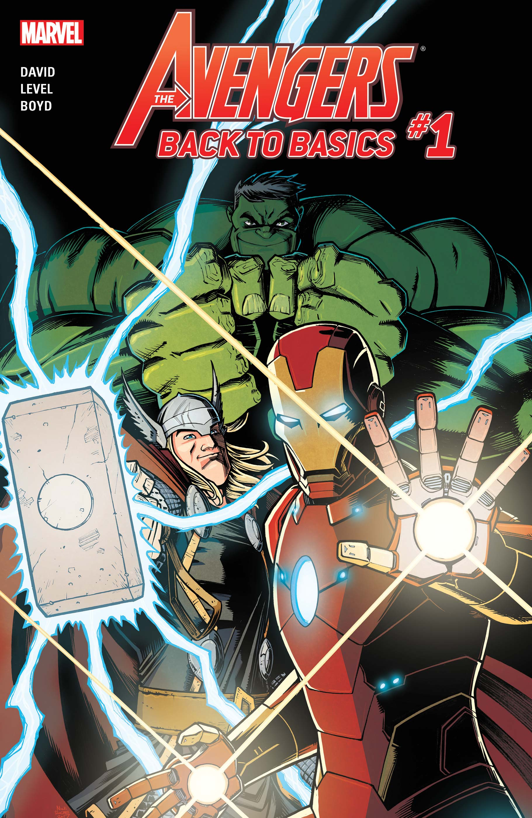 Avengers: Back to Basics (2018) #1