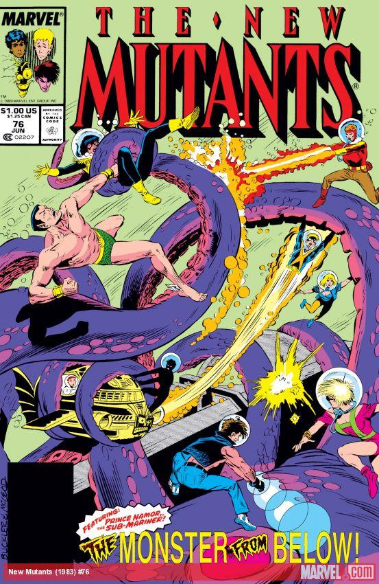 New Mutants (1983) #76