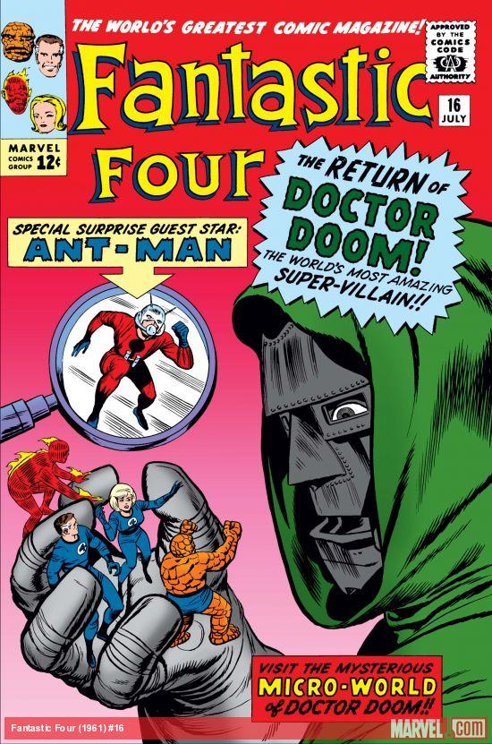 Fantastic Four (1961) #16