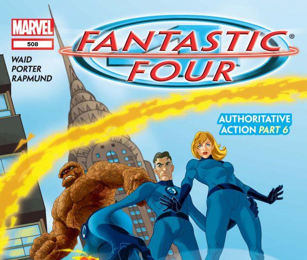 Fantastic Four (1998) #508