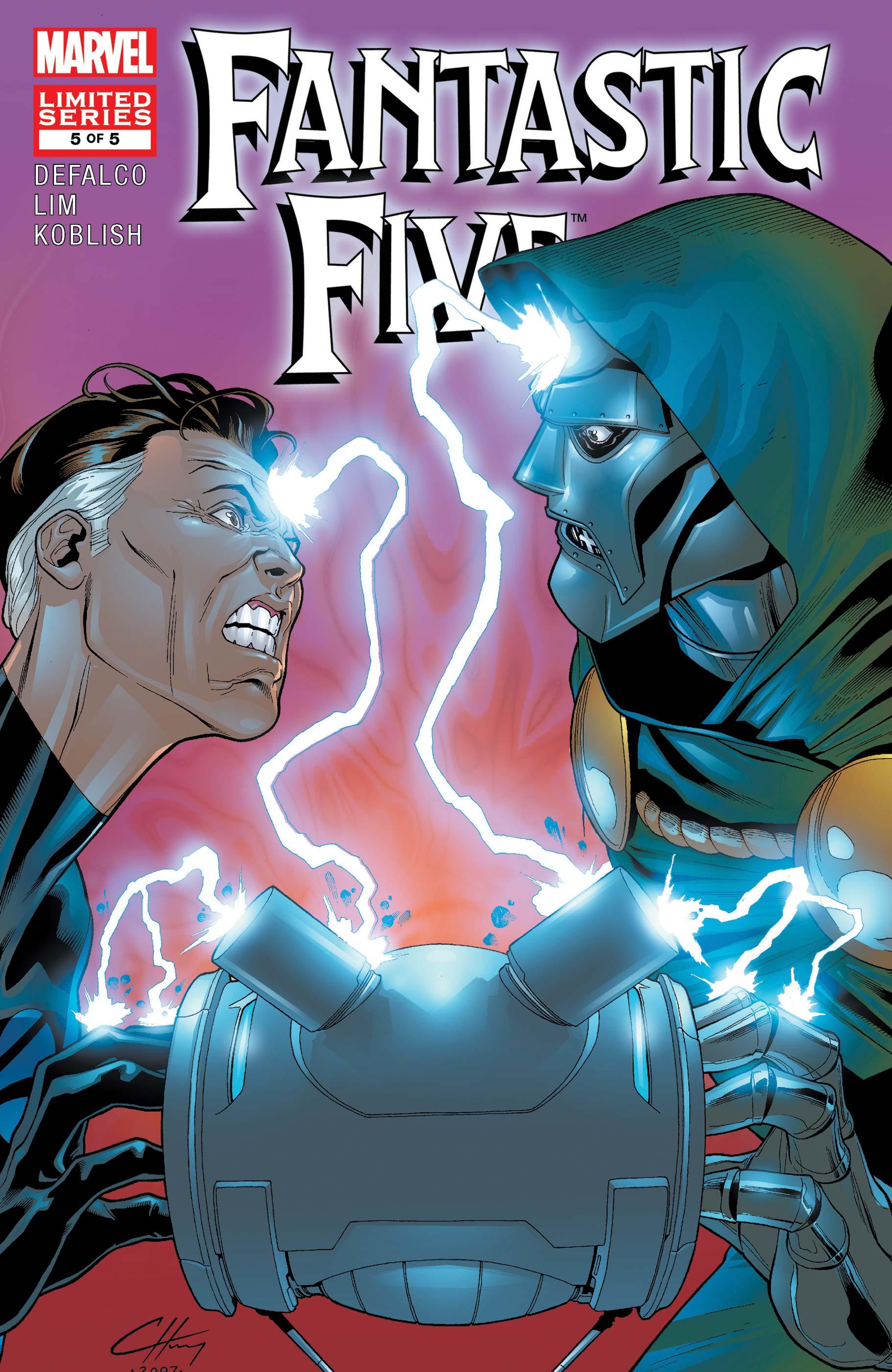 Fantastic Five (2007) #5