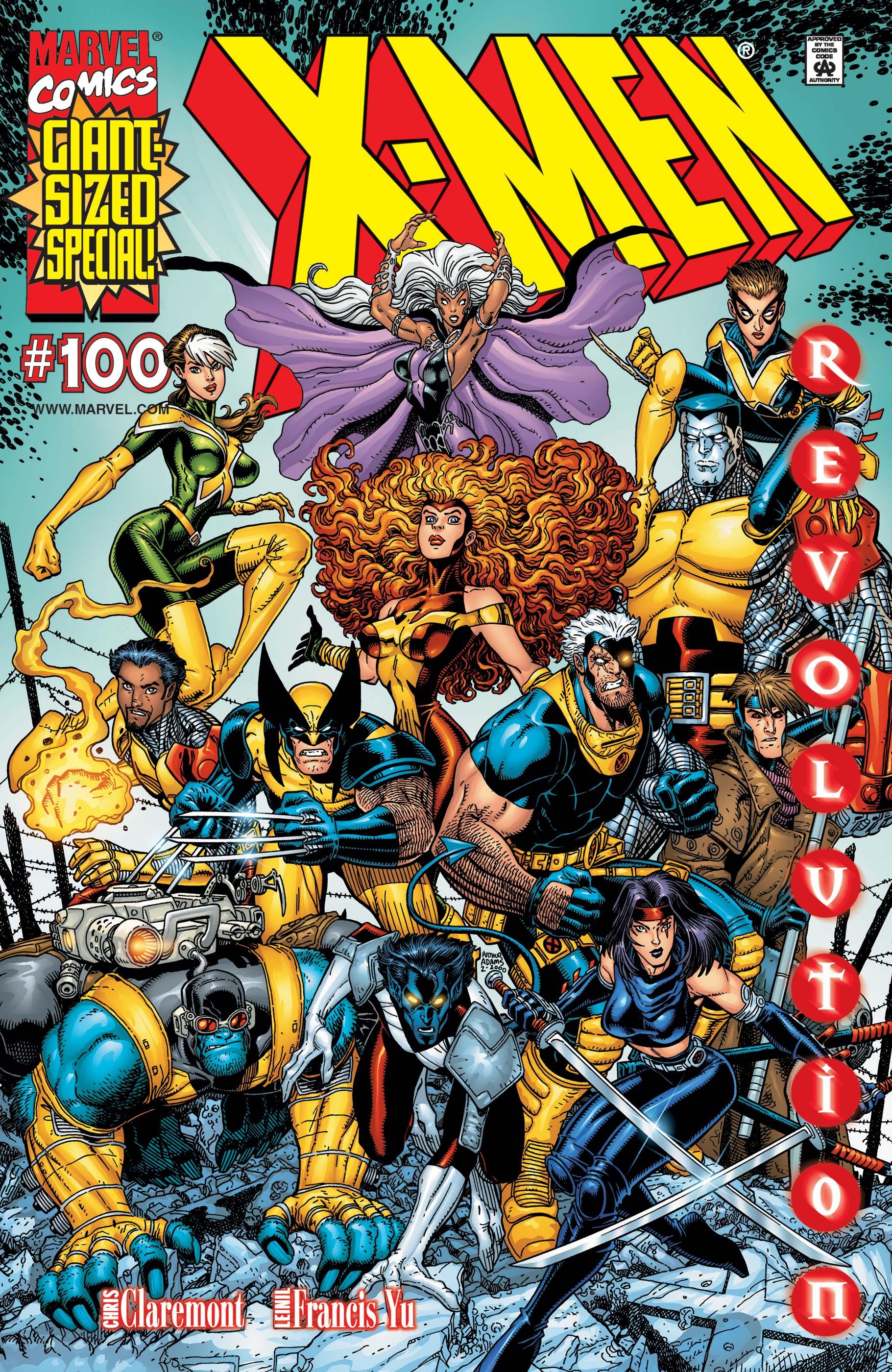 X-Men (1991) #100