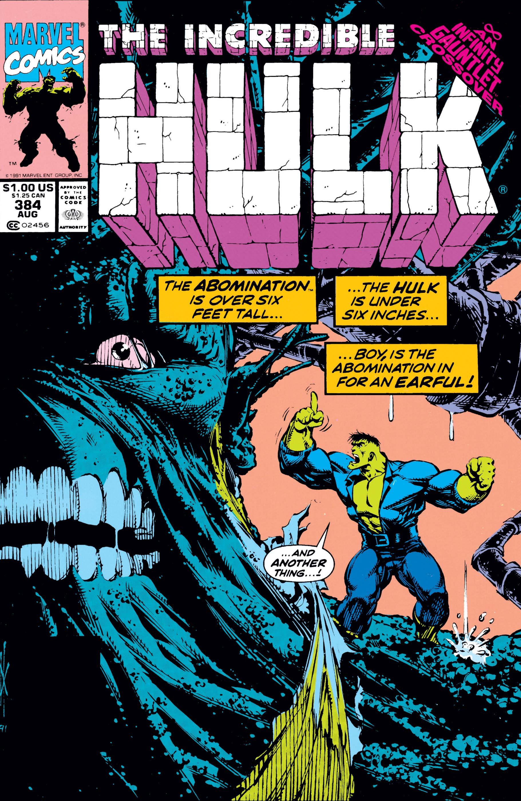 Incredible Hulk (1962) #384