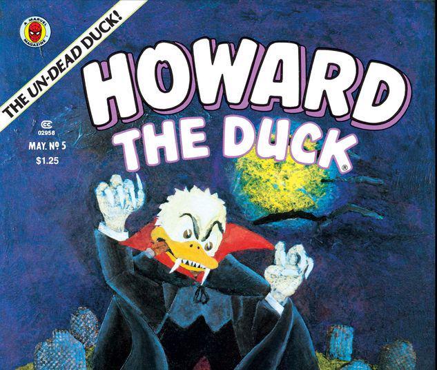 Howard the Duck Magazine #5