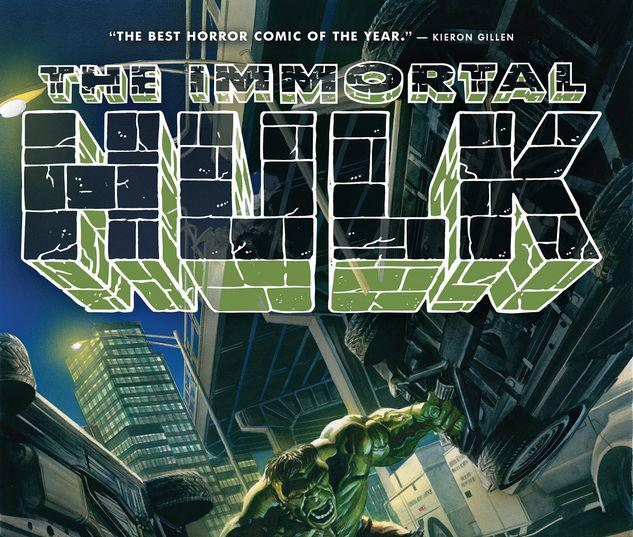 IMMORTAL HULK VOL. 1 HC #1