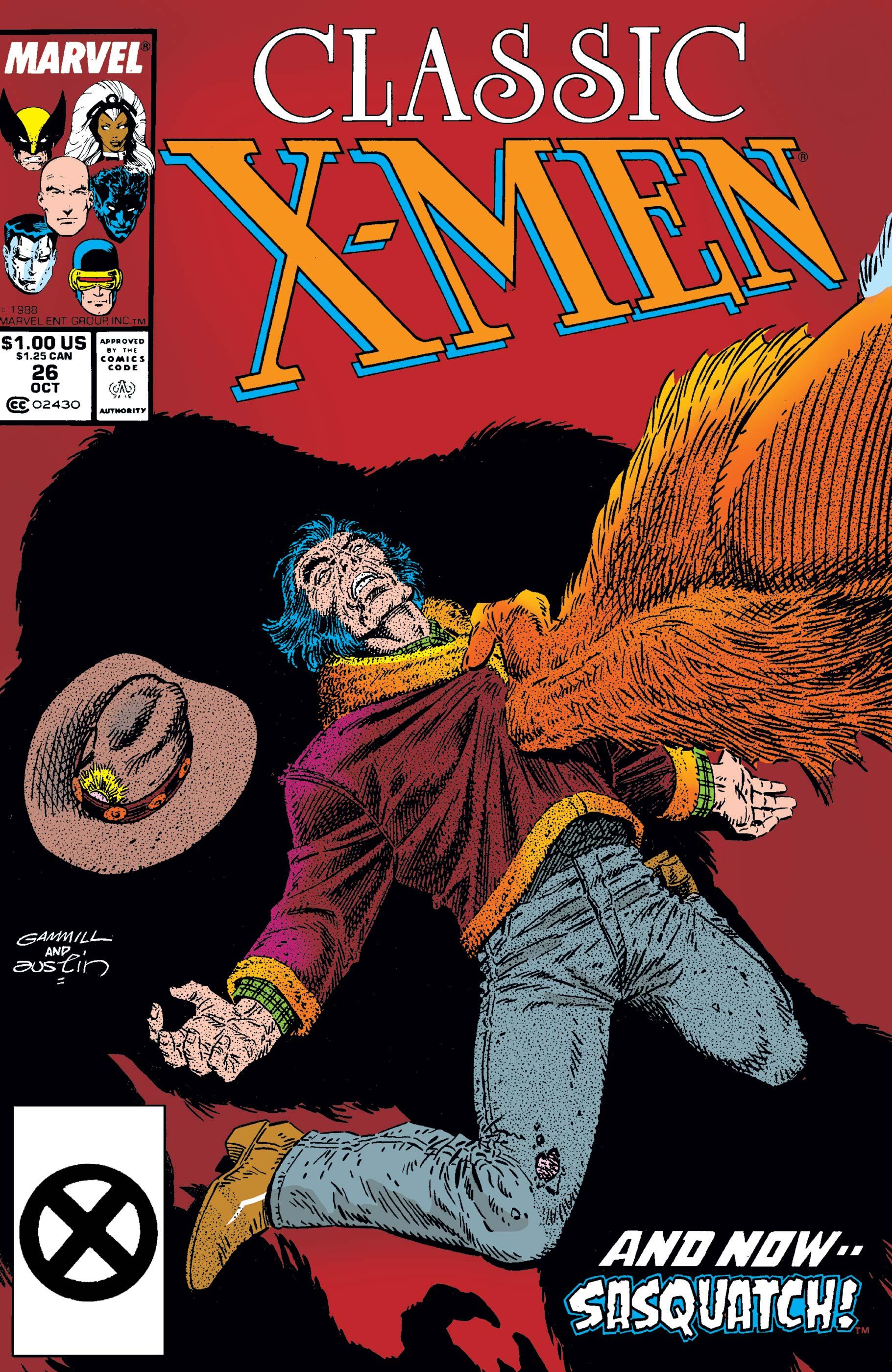 Classic X-Men (1986) #26