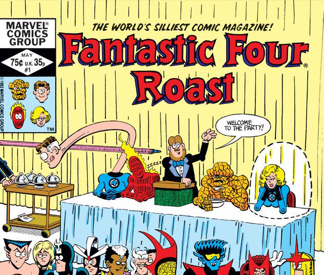 Fantastic Four Roast #1