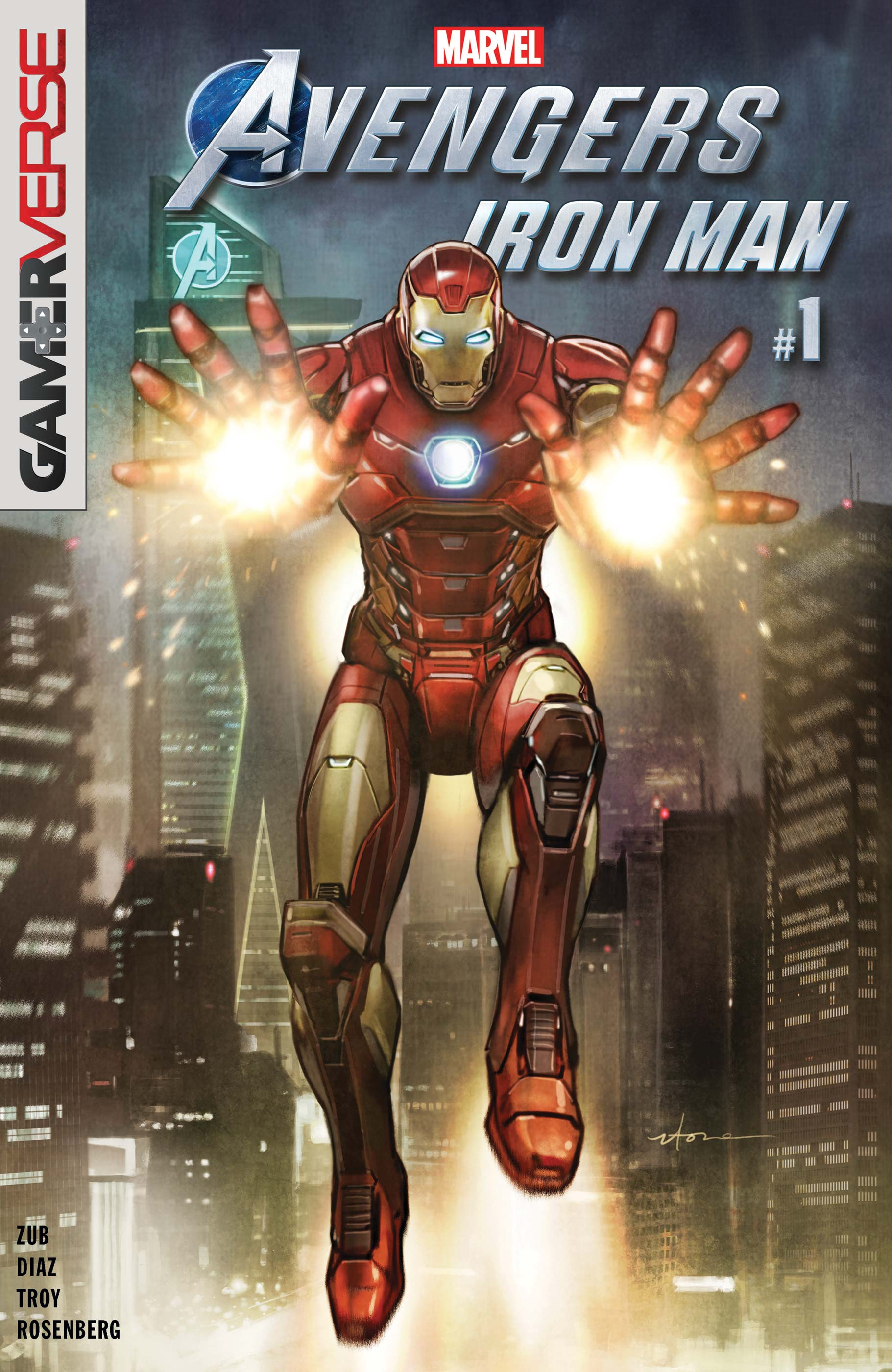 Marvel's Avengers: Iron Man (2019) #1