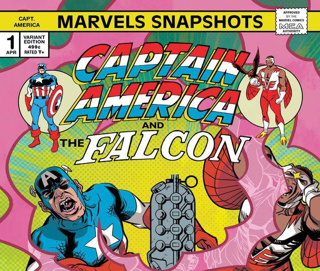 CAPTAIN AMERICA: MARVELS SNAPSHOTS 1 PEREZ VARIANT #1