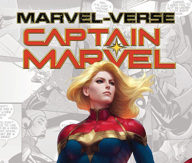 MARVEL-VERSE: CAPTAIN MARVEL GN-TPB #1