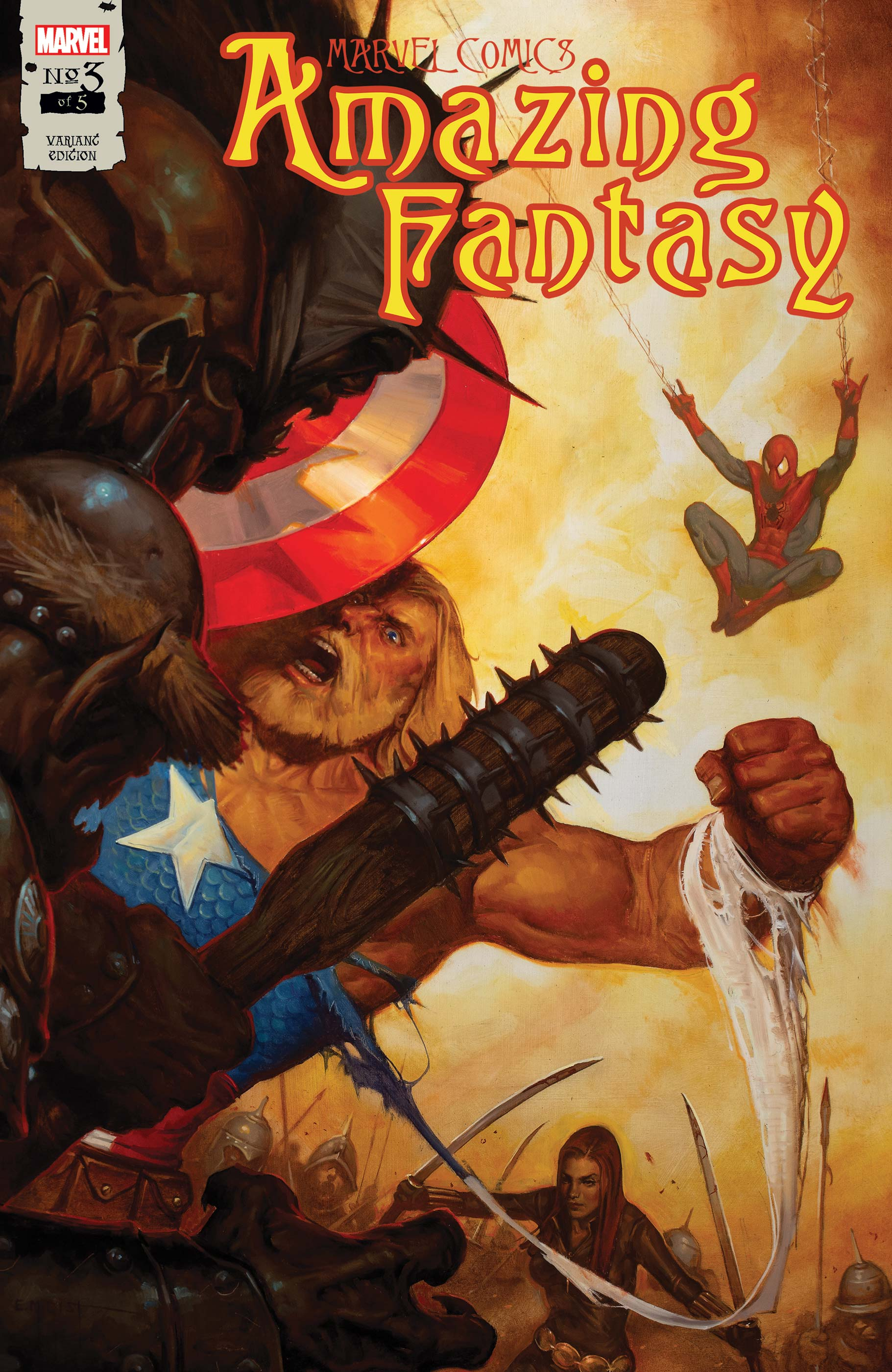 Amazing Fantasy (2021) #3 (Variant)