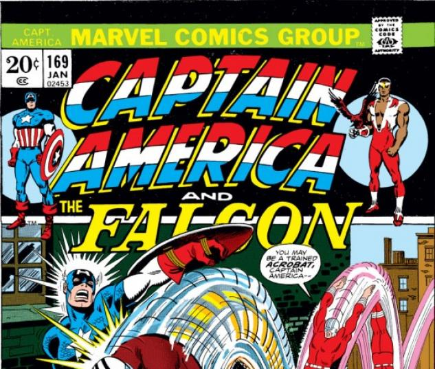 CAPTAIN AMERICA #169 COVER