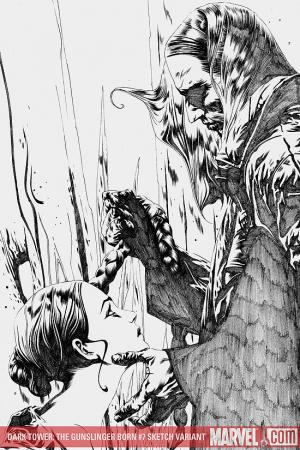 Dark Tower: The Gunslinger Born (2007) #7 (Jae Lee Sketch Variant)