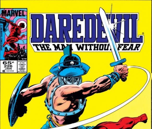 DAREDEVIL #226 COVER