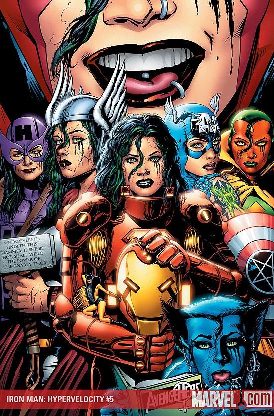 Iron Man: Hypervelocity (2007) #5