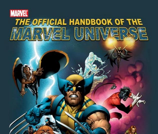 OFFICIAL HANDBOOK OF THE MARVEL UNIVERSE: X-MEN 2004 #0