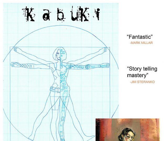 KABUKI (2008) #8 COVER