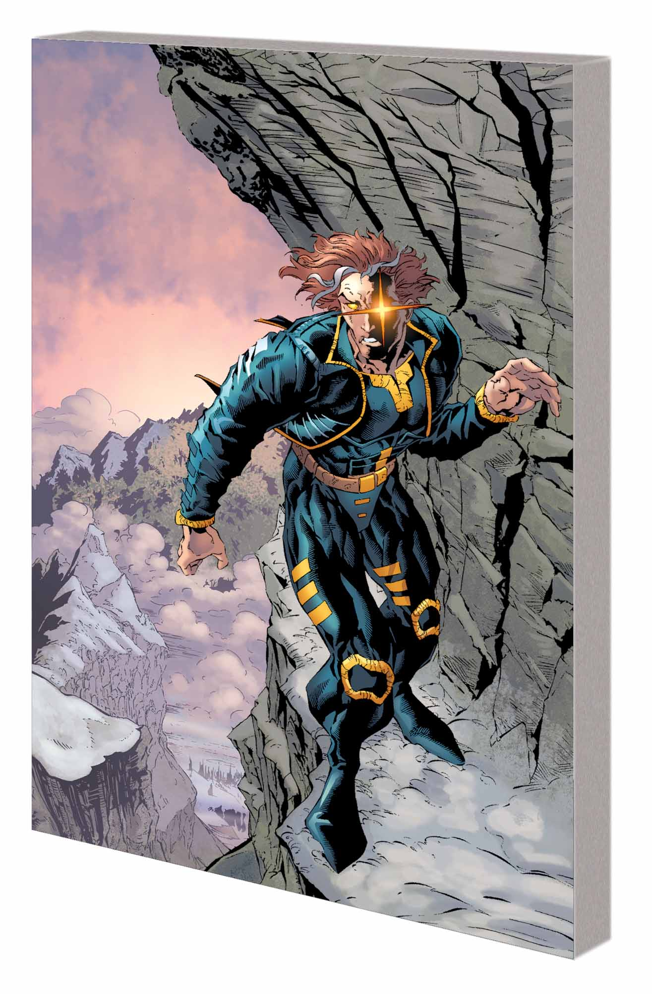 X-Man: The Man Who Fell to Earth (Trade Paperback)
