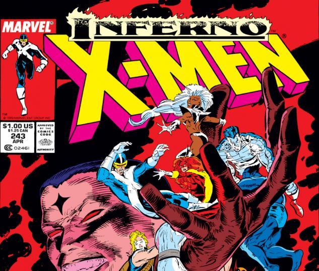 Uncanny X-Men (1963) #243 Cover