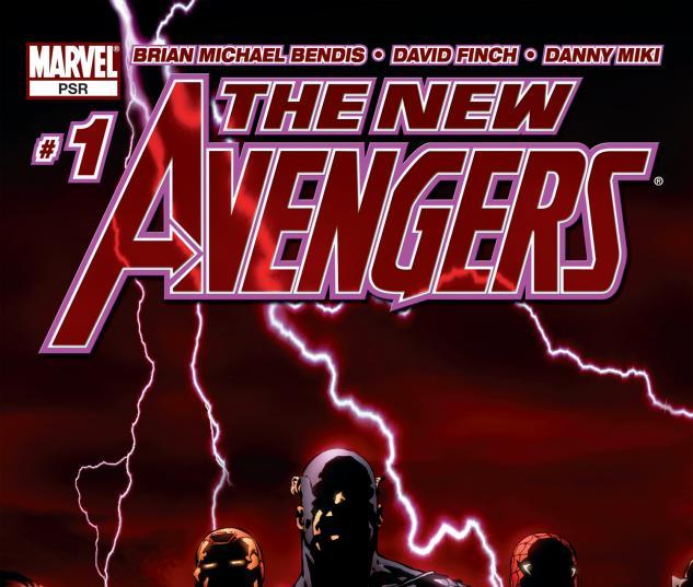 New Avengers (2004) #1 Cover