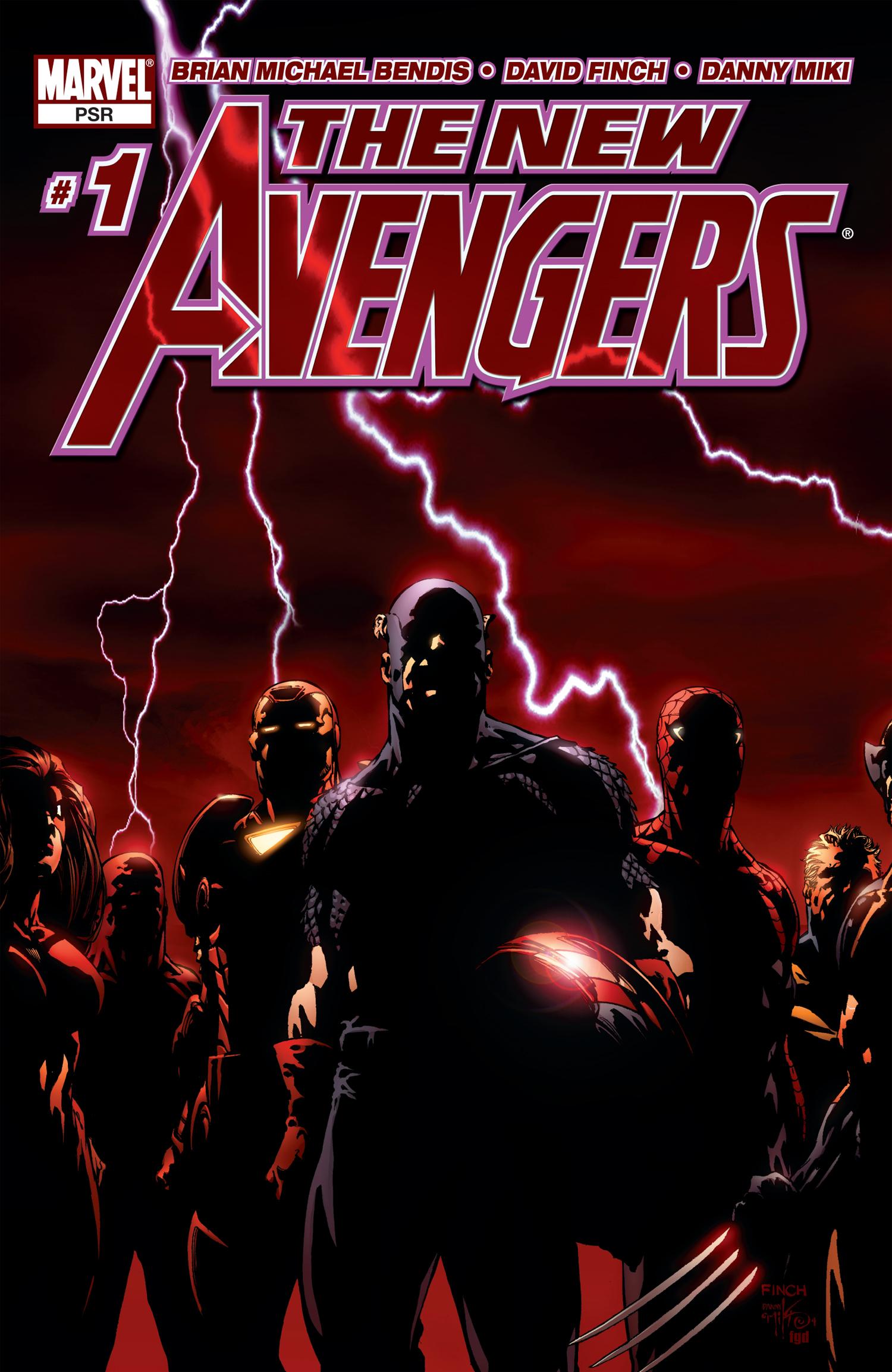 New Avengers (2004) #1