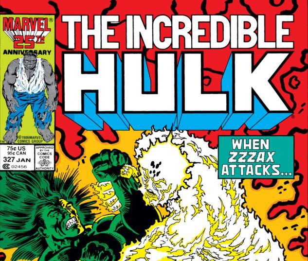 Incredible Hulk (1962) #327 Cover