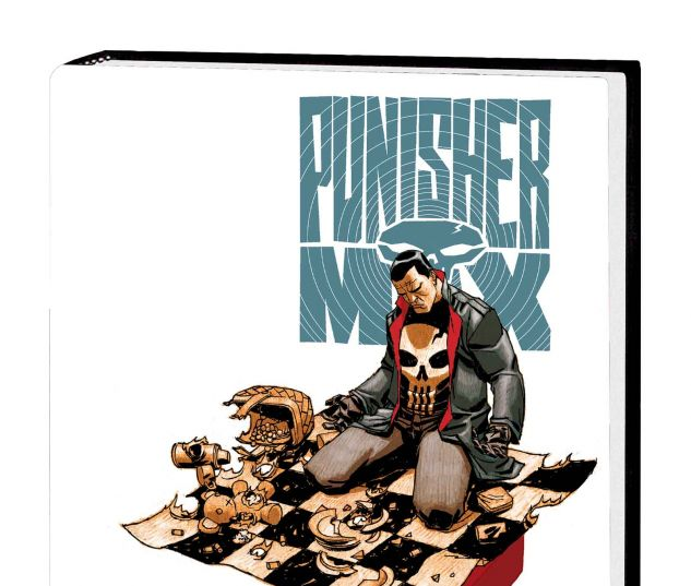 PUNISHER MAX BY JASON AARON & STEVE DILLON OMNIBUS HC