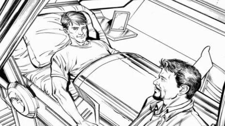 Marvel AR: Kieron Gillen on Tony's Absence