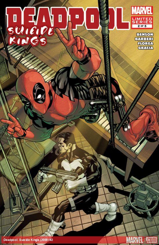 Deadpool: Suicide Kings (2009) #2