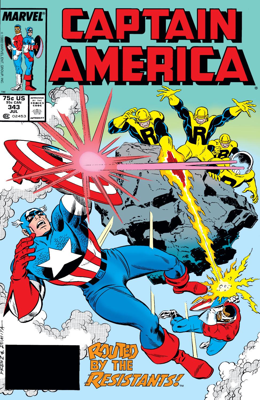 Captain America (1968) #343