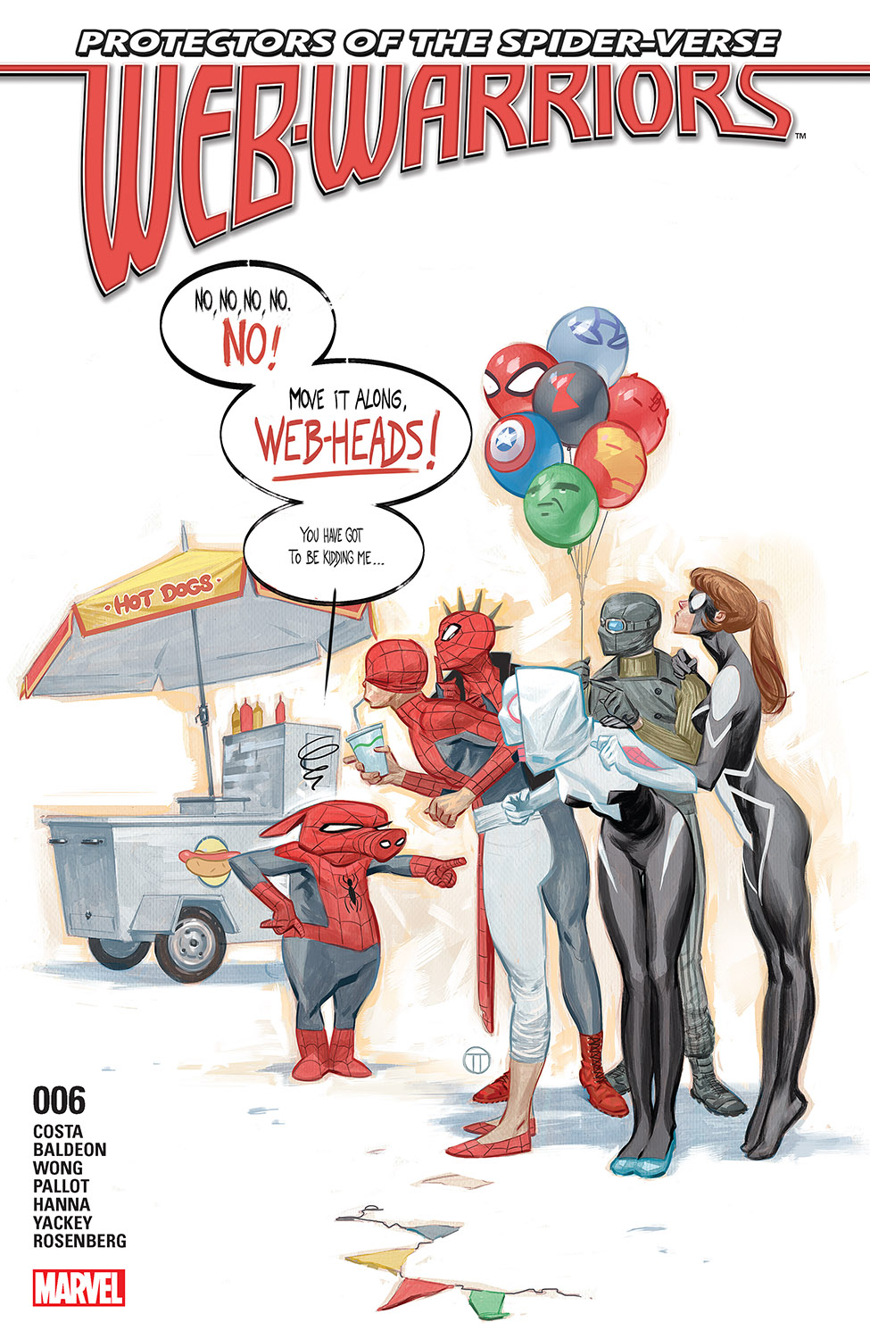 Web Warriors (2015) #6