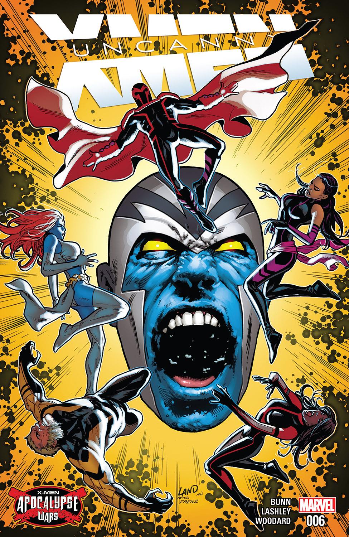 Uncanny X-Men (2016) #6