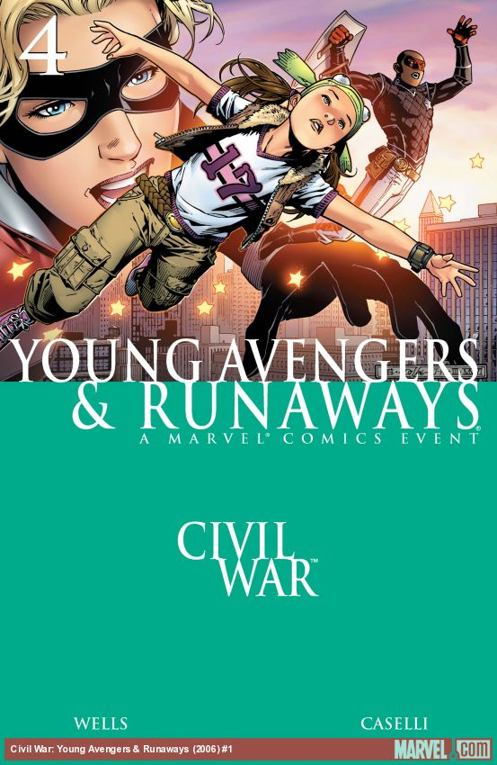Civil War: Young Avengers & Runaways (2006) #4
