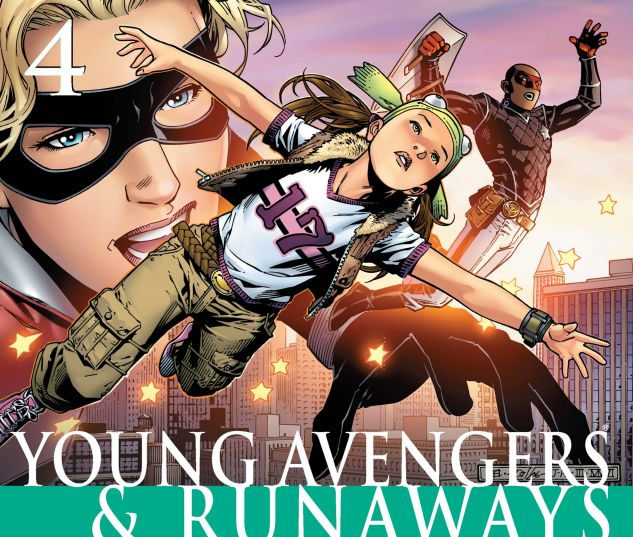 CIVIL WAR: YOUNG AVENGERS & RUNAWAYS (2006) #1 Cover