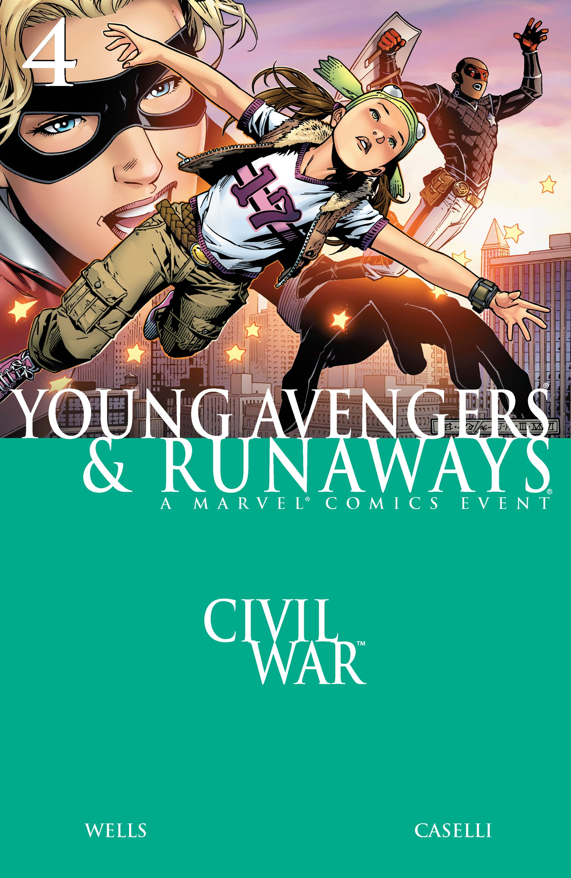 Civil War: Young Avengers & Runaways (2006) #4