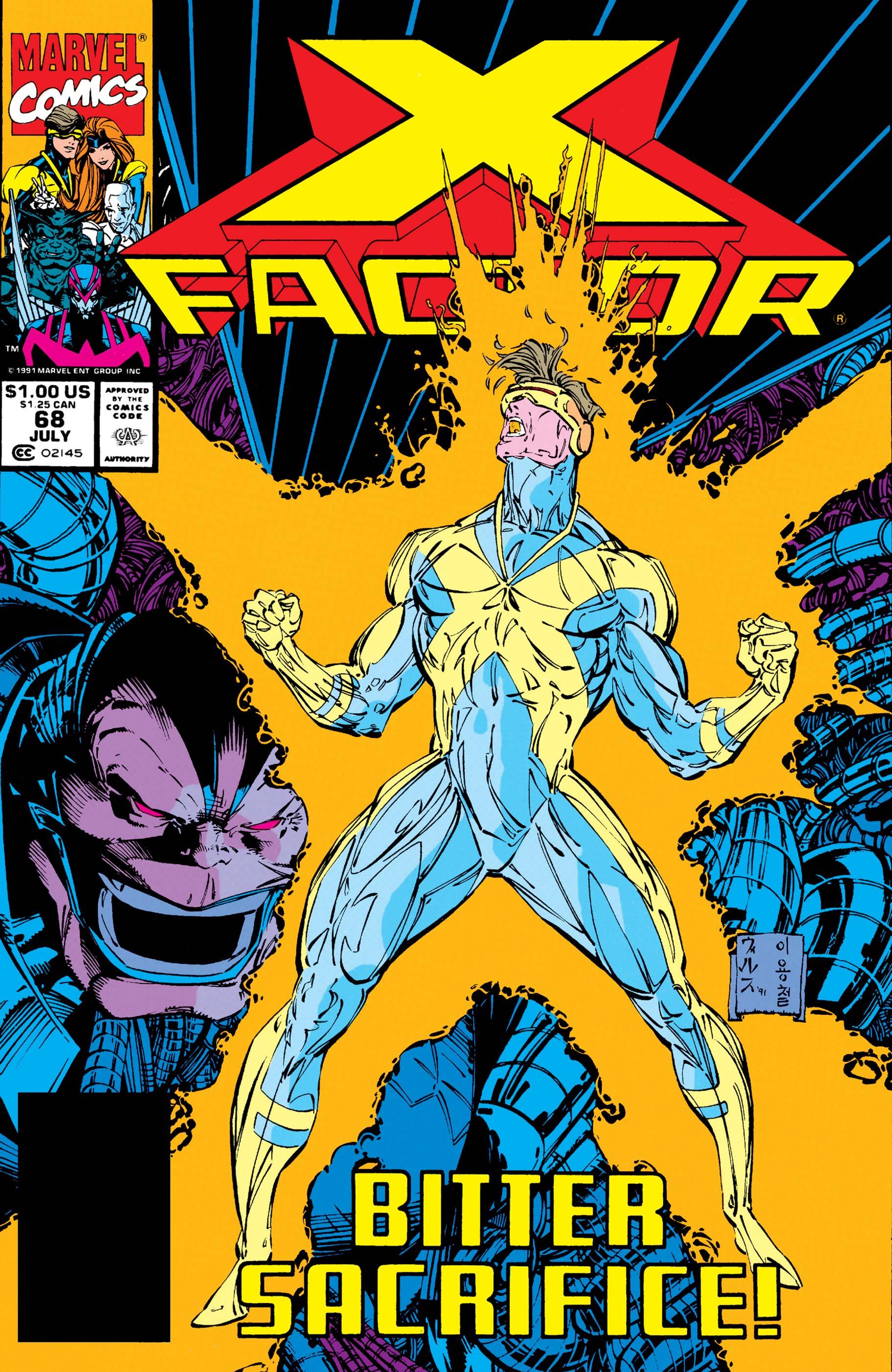 X-Factor (1986) #68