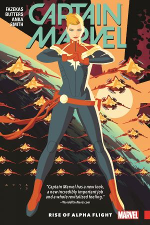 Captain Marvel Vol. 1: Rise of Alpha Flight (Trade Paperback)
