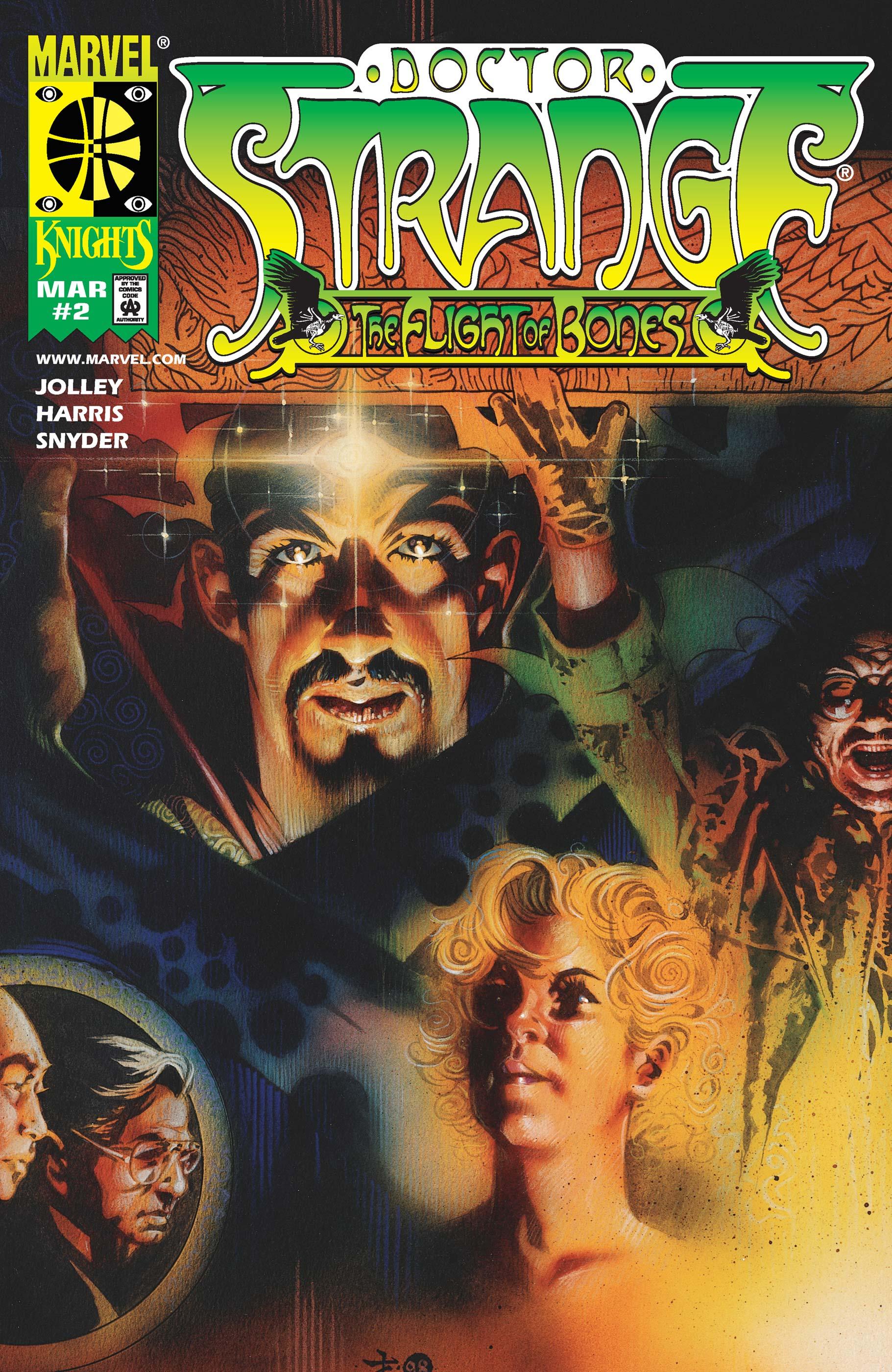 Doctor Strange: The Flight of Bones (1999) #2